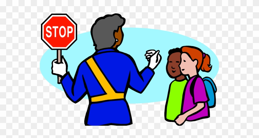 School Crossing Guard Clip Art - Crossing Guard Clip Art #10681
