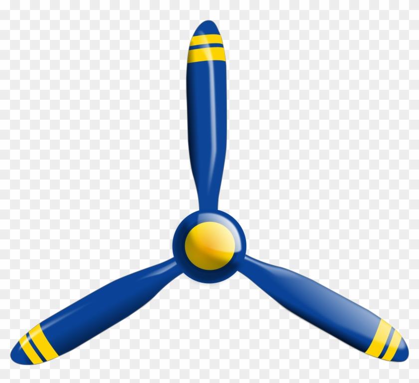 Aircraft Clipart Propeller Plane - Propeller Clipart #10687
