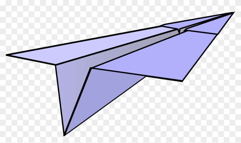 Paper Airplane Clipart Clip Art At Clker Com Vector - Free Clipart Paper Airplane #10688