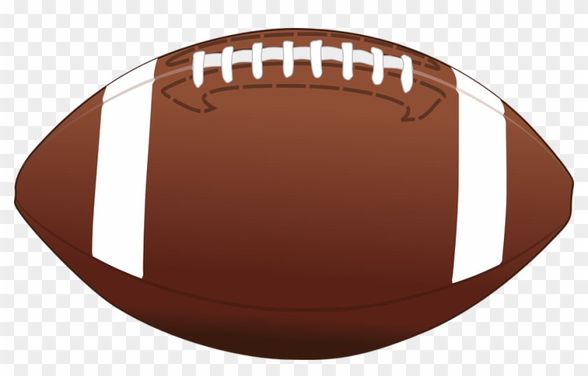 American Football Clipart - American Football Ball Vector #10710