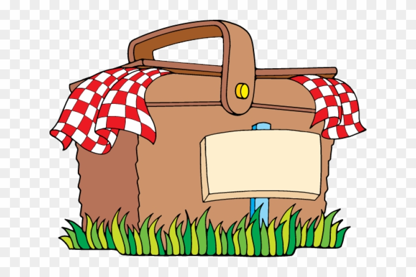 Graphics For Thank You Lunch Graphics - Picnic Basket Clip Art #10718