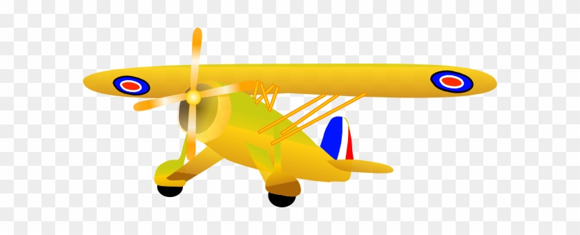 Propel Plane Clip Art At Clker Com Vector Online Airplane - Airplane #10732