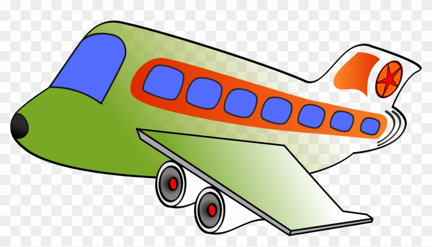 Air Force Airplane Clipart - Airplane Clipart Big Windows #10741