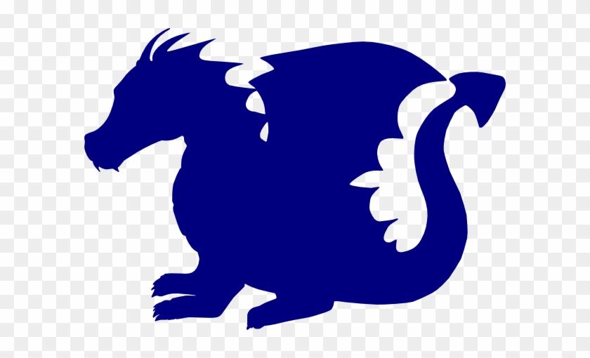 Blue Dragon Clip Art - Free Dragon Svg #10747