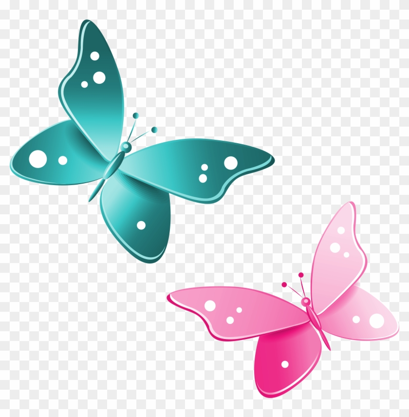 Butterfly Clipart Png - Pink Butterfly Clipart Png #10790