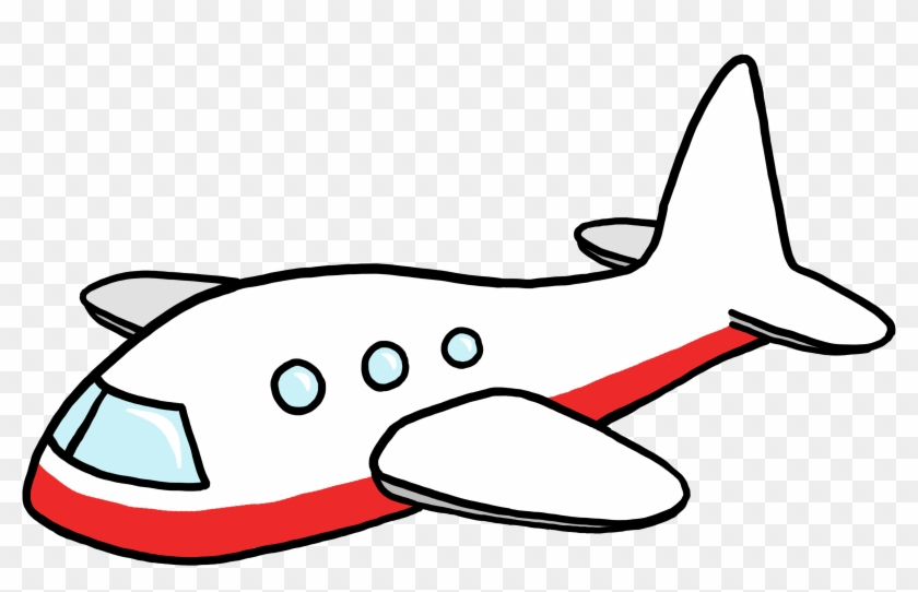 Airplane Clip Art - Aeroplane Cartoon Png #10779