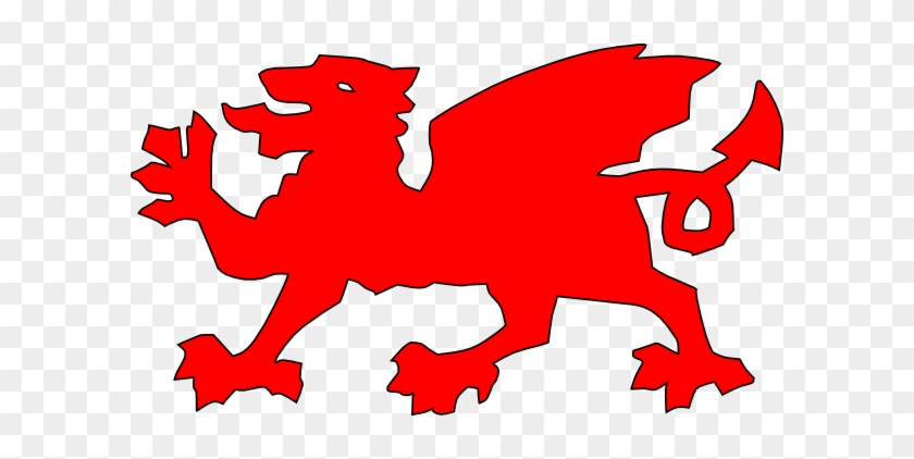 Red Welsh Dragon #10773