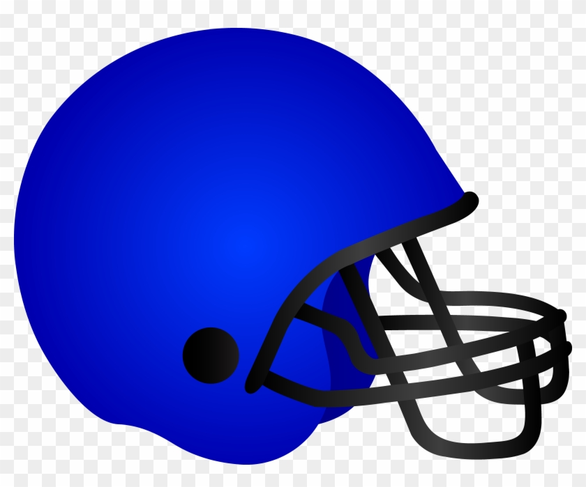 Football Helmet Clip Art - Clip Art Of Helmet #10833