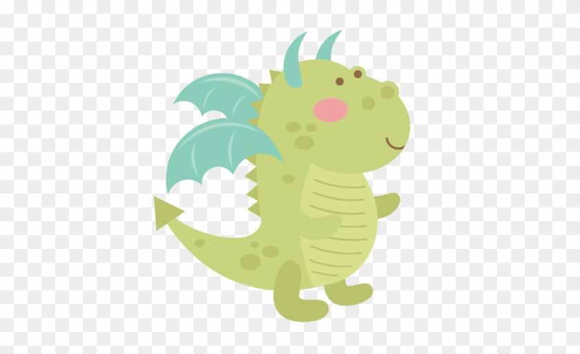 Dragon Svg Cutting File Cute Dragon Clipart Svg Cut - Cute Dragon Clipart #10804