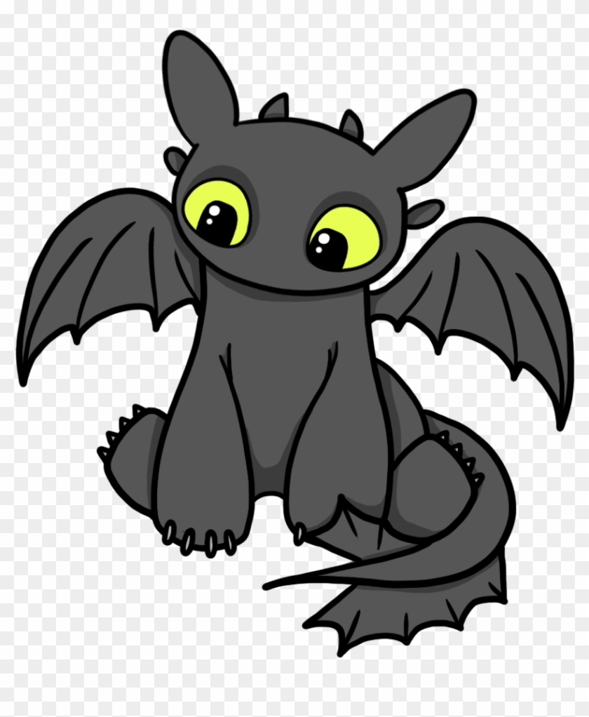 How To Train Your Dragon Clip Art Many Interesting - Train Your Dragon Toothless Cartoon #10853