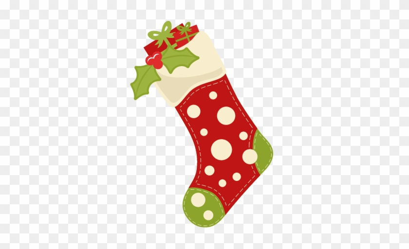Free Christmas Stocking Pictures Christmas Stocking - Scalable Vector Graphics #10869