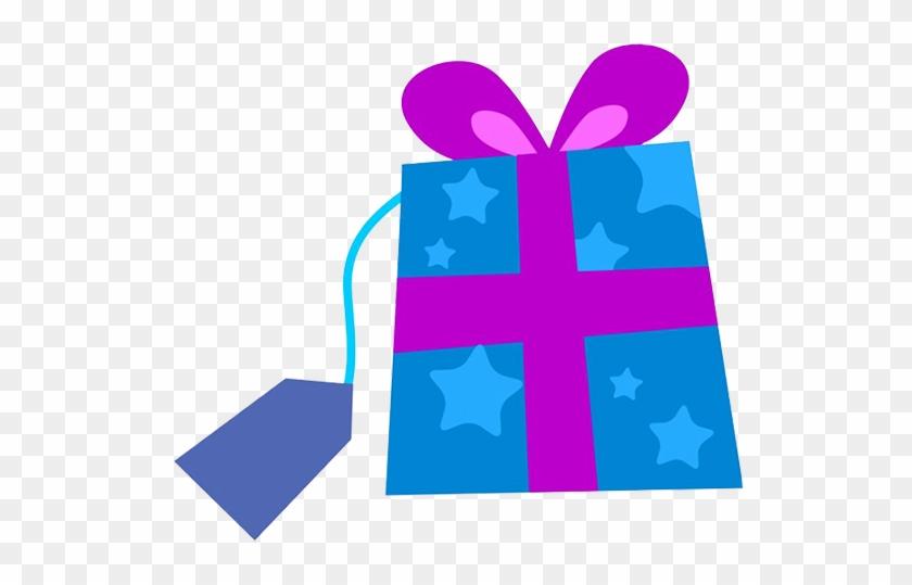 Blue Christmas Present Clipart - Blue Christmas Present Clip Art #10872