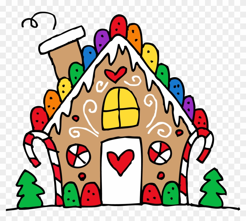 free christmas clipart gingerbread house christmas food clip art