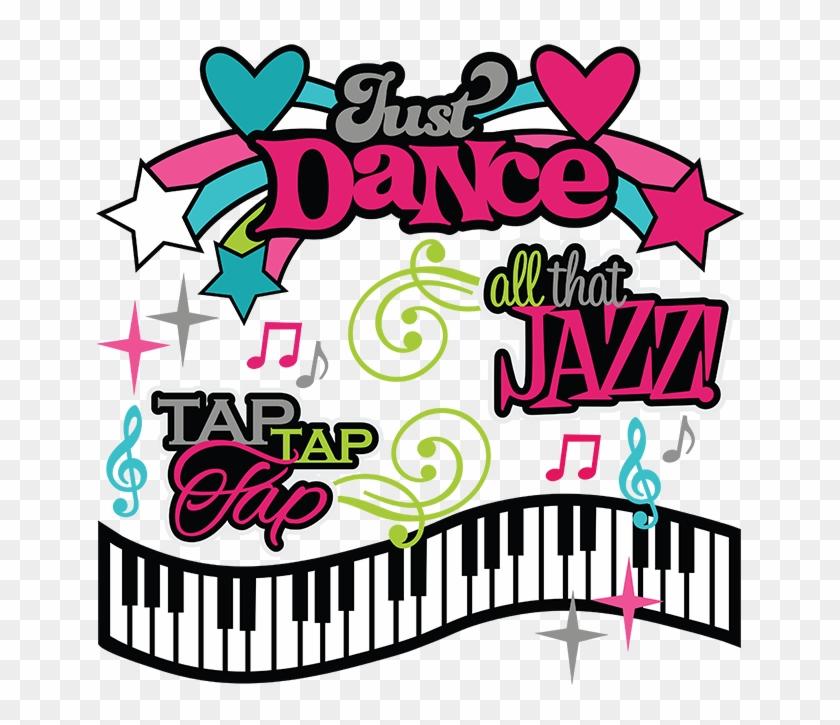 Dance Svg Cutting Files Clipart - Dance Recital Clip Art #10911