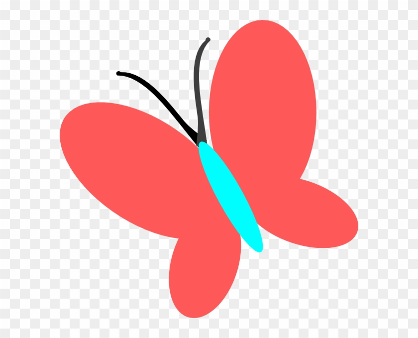 Clipart Butterfly Clip Art Free Borders Image 7 - Red Butterflies Clip Art #10907