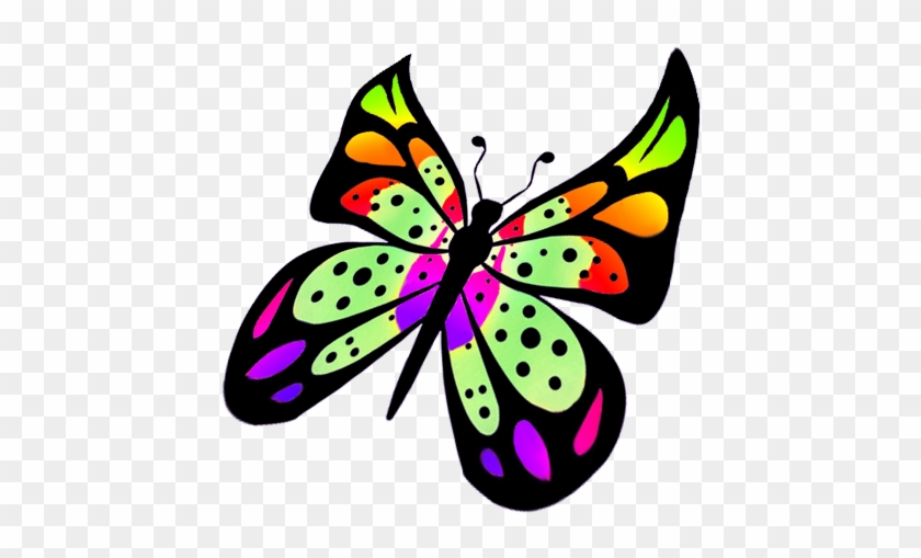 Butterfly Clipart - Flying Butterfly Clipart Png #10910