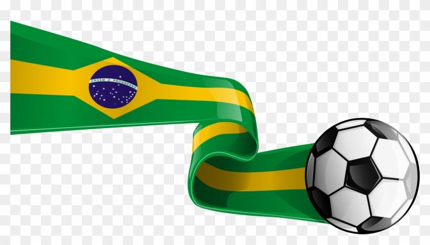 Brasil Flag Clipart - Brazil Flag Png #10927