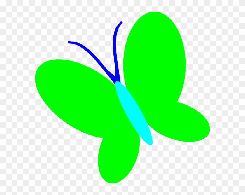 Green Butterfly Clip Art - Butterfly Green Clip Art #10926