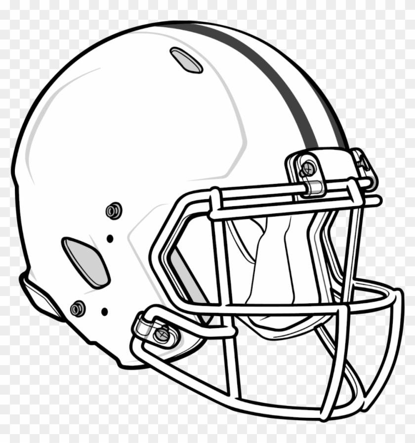 Football Helmet Free Coloring Pages Of Blank Football Cool