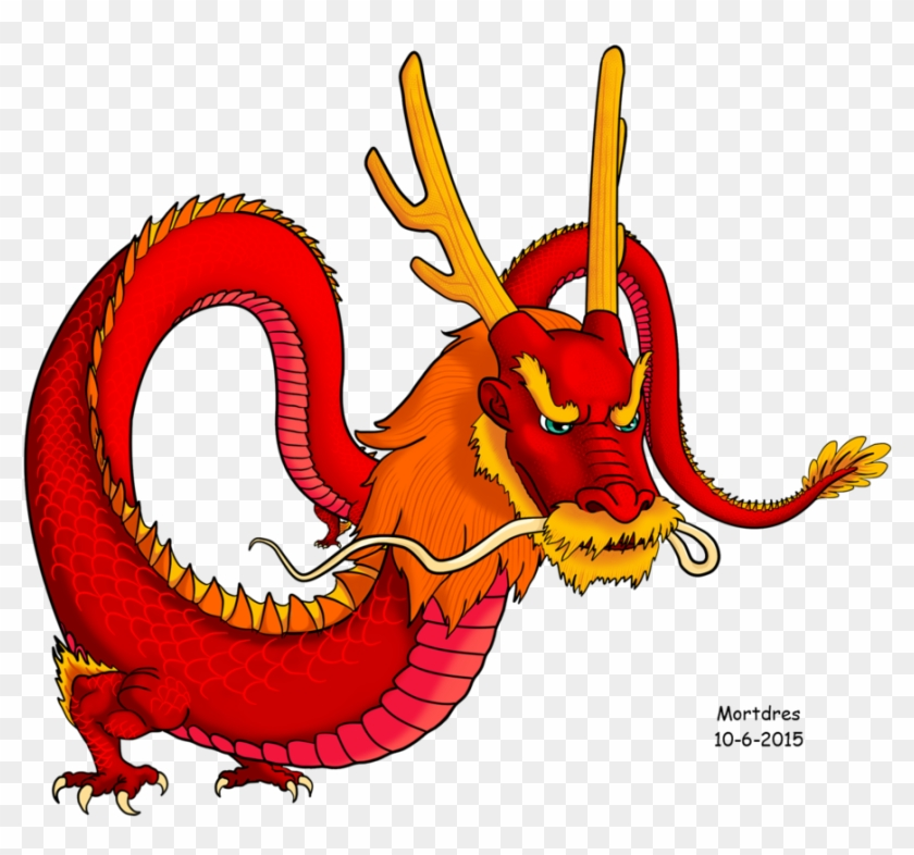Red Chinese Dragon By Mortdres Red Chinese Dragon By - Chinese Dragon Deviantart Cartoon #10937