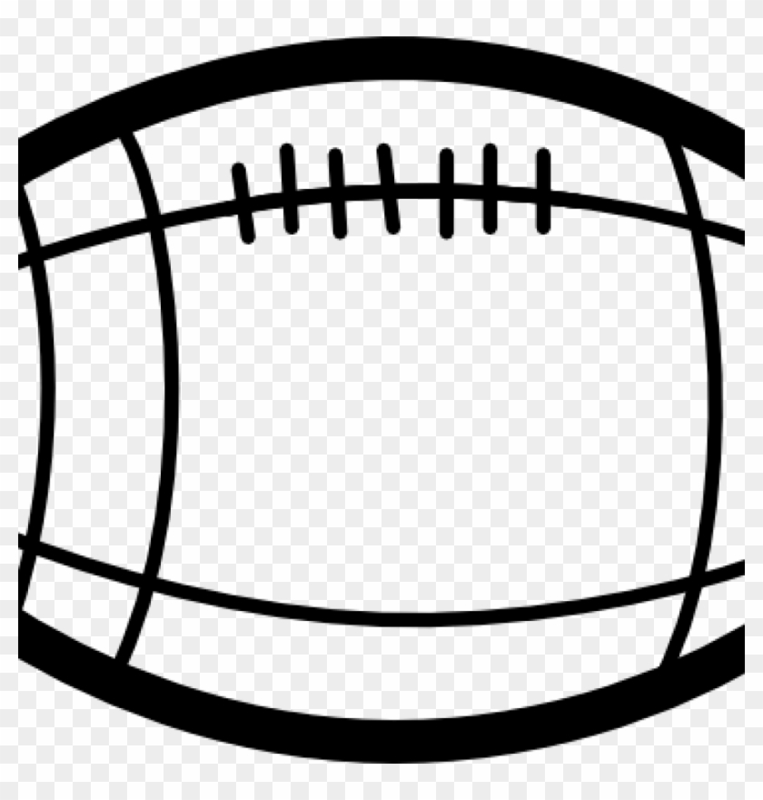 Football Images Clip Art Football Clipart Black And - Football Black And White #10941