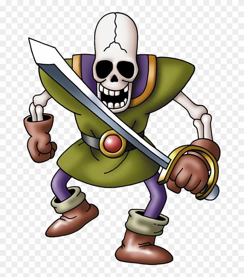 Skeleton Clipart Dungeons And Dragon - Skeleton Soldier #10950