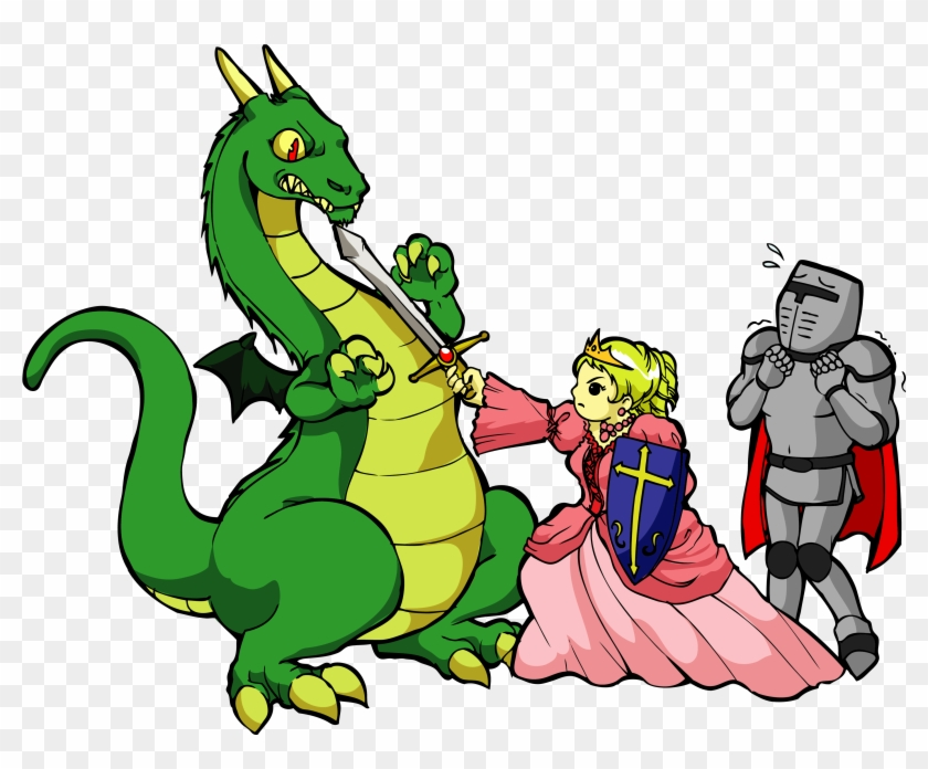 Poems Clip Art - Princess And The Knight #10957