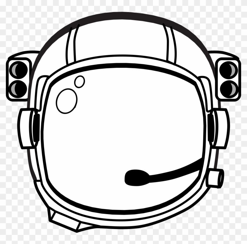 Clipart - Space Helmet Clip Art #10974