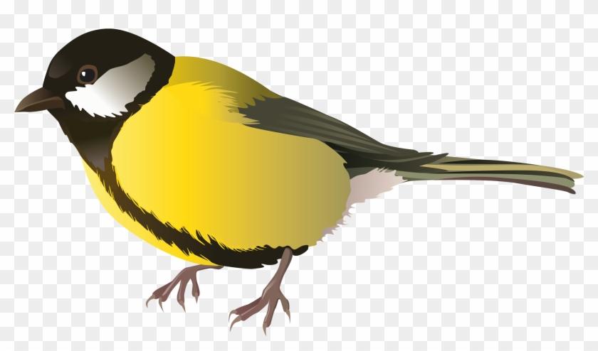Yellow Bird Png Clipart - Png Birds #10982