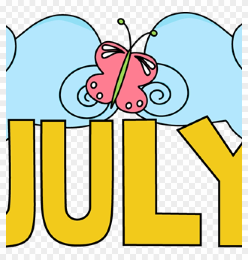 Free July Clipart July Clip Art July Images Month Of - Clip Art #11024