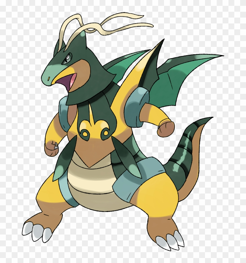Pokemon X And Y Mega Evolution Dragonite #11046