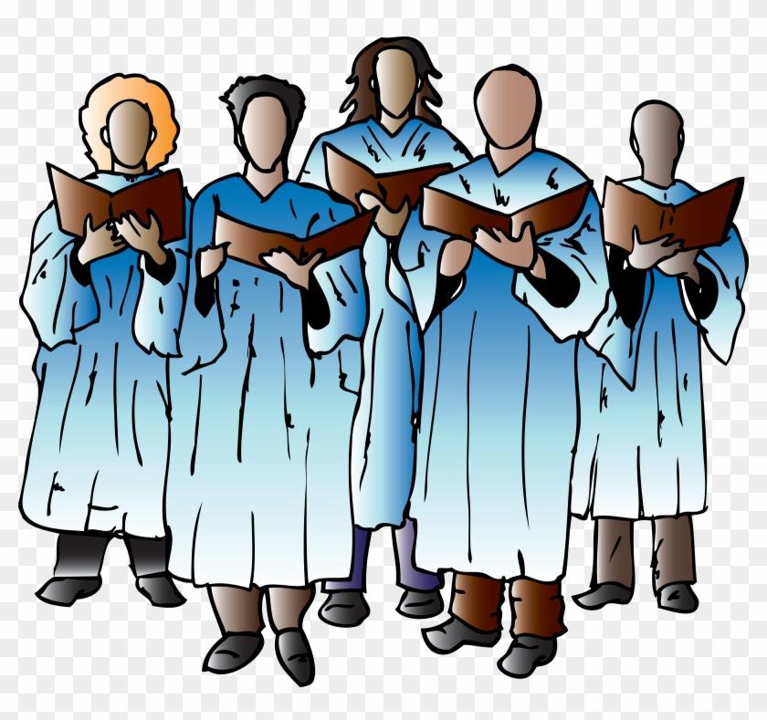Church - Choir Clipart Png #11065