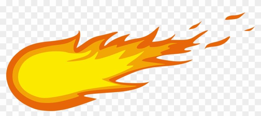 Meteor Clip Art - Fire Ball Clip Art #11072