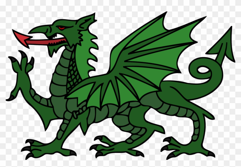 Dragon Pictures To Colour New Onlinelabels Clip Art - Welsh Dragon #11100
