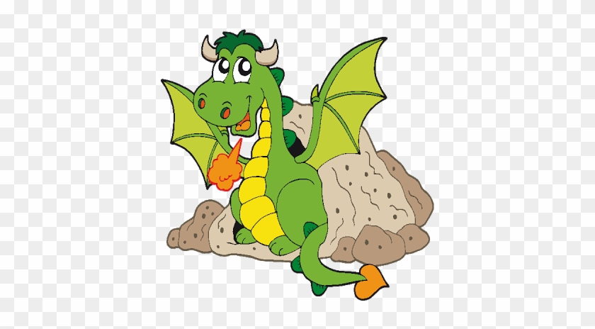Dragon Clipart Funny - Cute Cartoon Dragon #11102