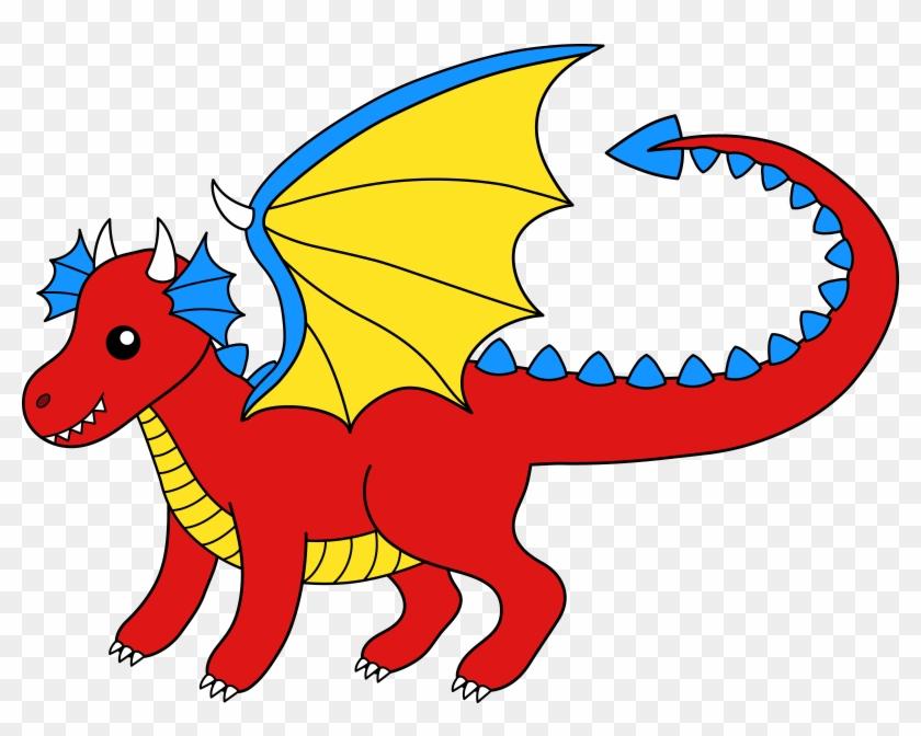 Clip Art Of Dragons - Clip Art Of Dragons #11140