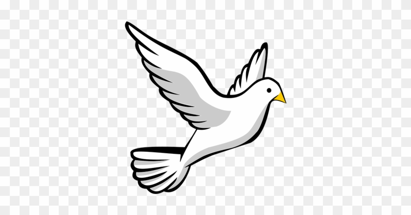 2101 Flying Bird Clip Art Free Public Domain Vectors - Get To Know The Holy Spirit #11129