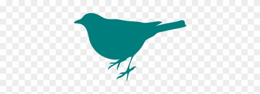 Teal Bird Silhouette Clip Art - Bird Silhouette Clip Art #11143