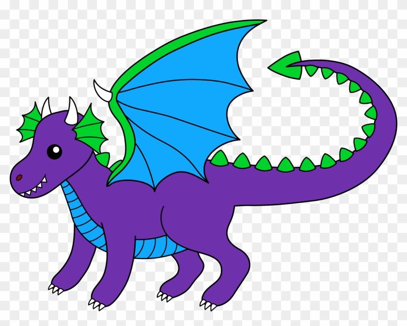 Clip Art Of Dragons - Clip Art Of Dragons #11172