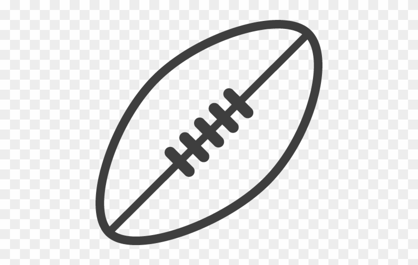 Football Black And White Afl Football Clipart Black - Black And White Afl Ball #11152