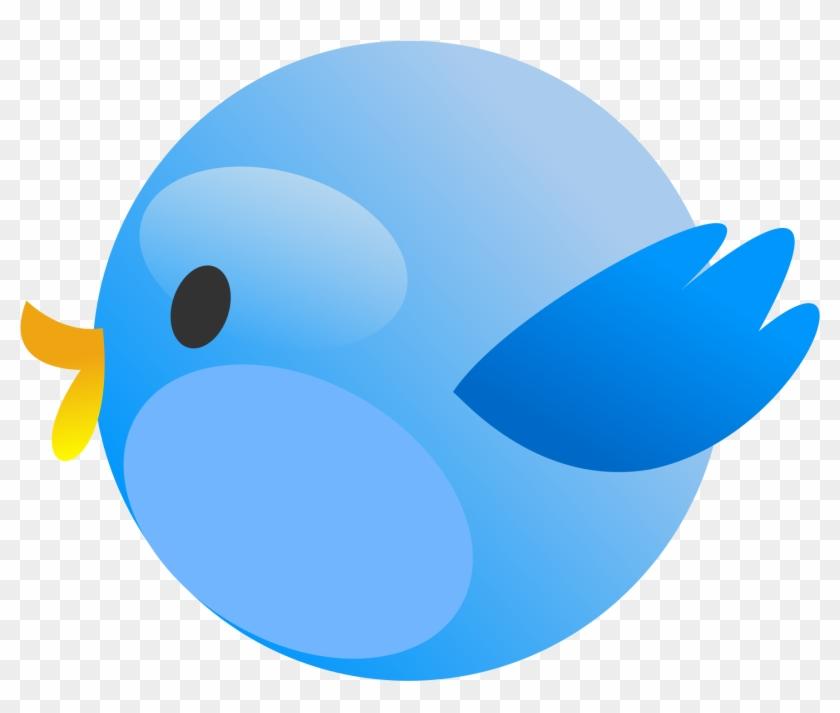 Tweet Bird 2 1979px 214 - Passarinho Azul Vetor Png #11155