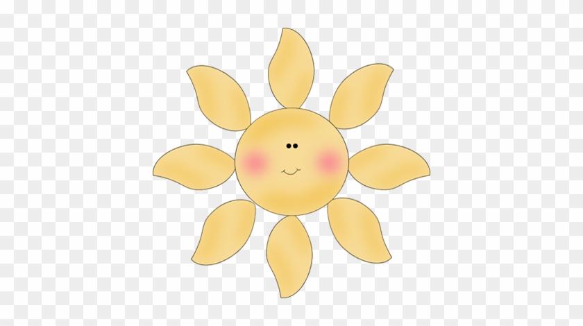 Chubby Sun - Cute Little Sunshine Clip #11163
