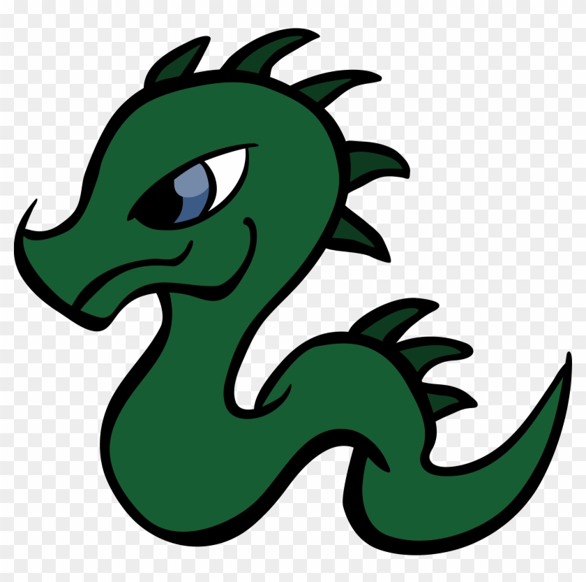 Baby Dragon Vector Clipart Free Cc0 - Baby Dragon Clipart #11176