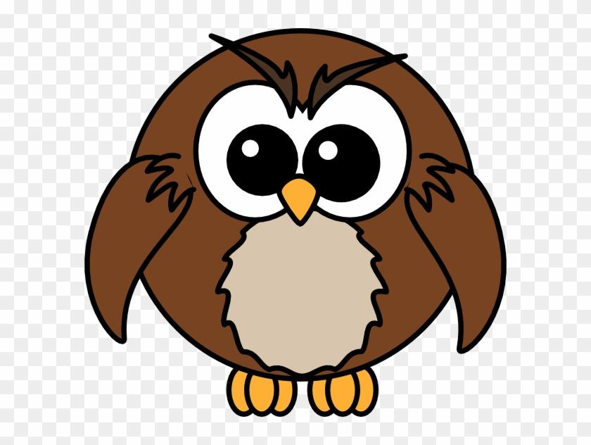 Cartoon Owl Clip Art - Cartoon Owl #11217