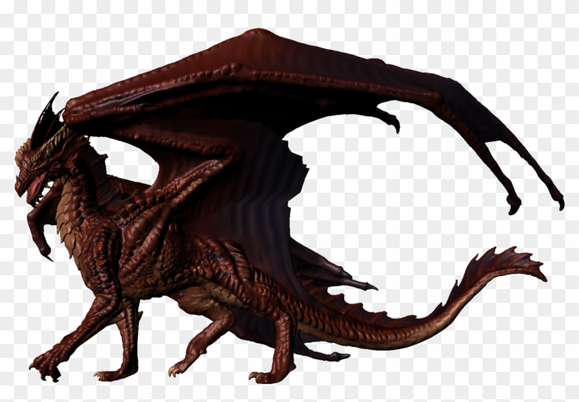 Dungeons & Dragons Clipart Red Dragon - Realistic Dragon Clip Art #11229