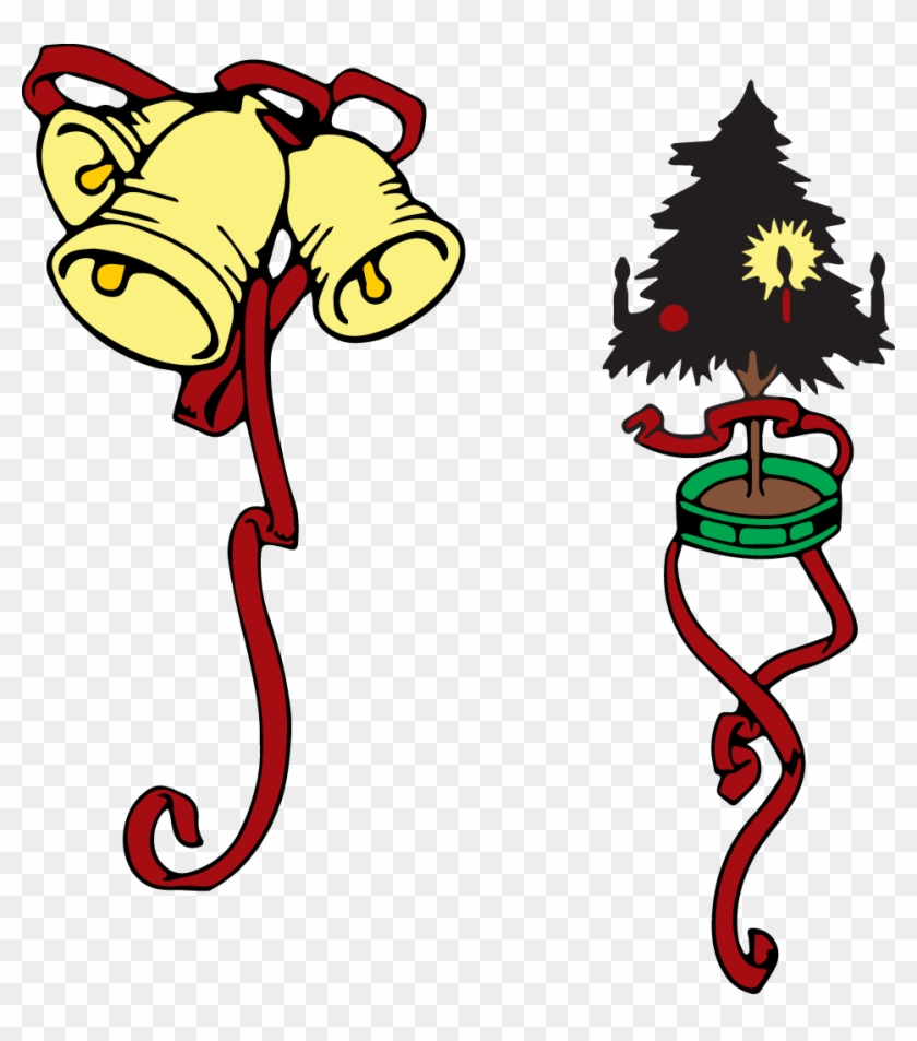 Download Colored Christmas Clip Art Images - Christmas Colored Clip Art #11239