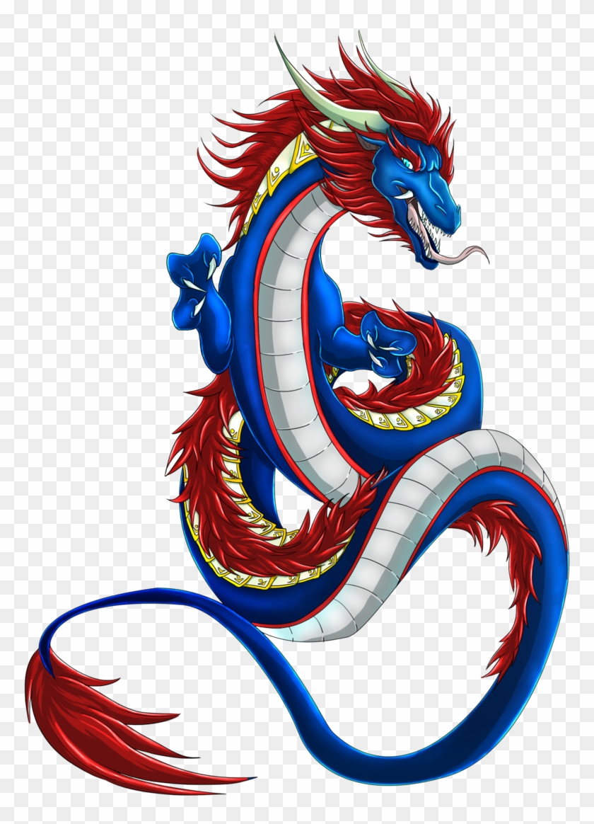 Chinese Dragon Outline Free Download Clip Art Free - Chinese Dragon Png #11251