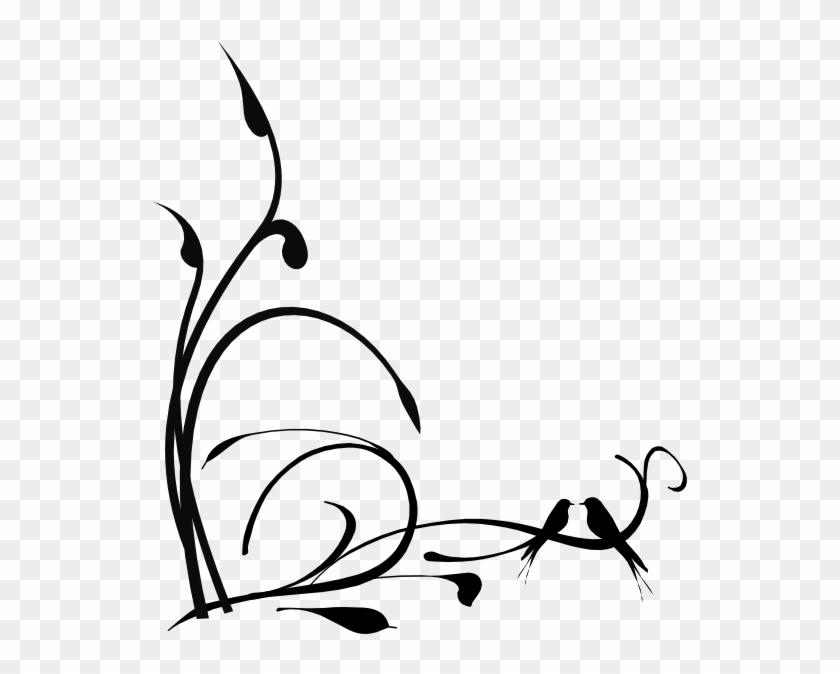 Bird On Branch Clip Art - Clip Art #11271