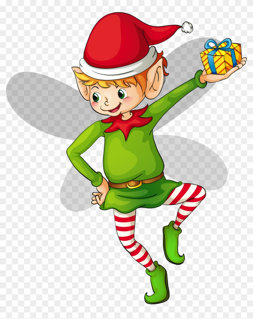 Free Christmas Elf Clip Art Free Rf Christmas Elf - Elf Clipart Png #11304