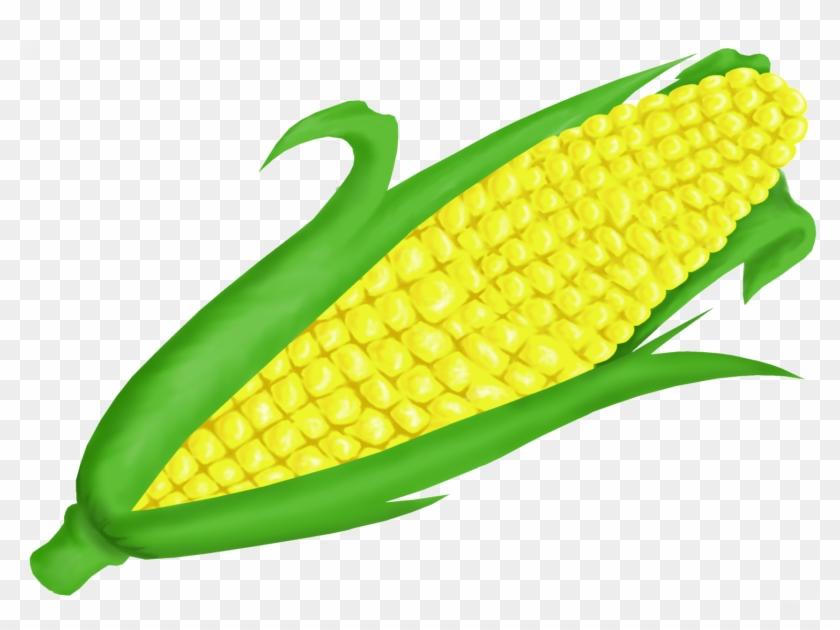 Corn Clipartrn Clip Art Vector Clip Art Clipartcow - Corn On The Cob Clip Art #11338
